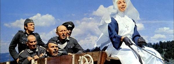 """""""La Grande Vadrouille"""" est un film franco-britannique de Gérard Oury, sorti en 1966. Le film raconte sur le ton de la comédie les déboires des Français face aux Allemands sous l'Occupation"""