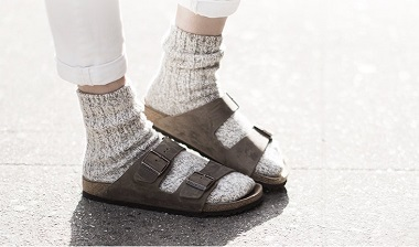 Birkenstock - Photo et site internet de Garance Doré.