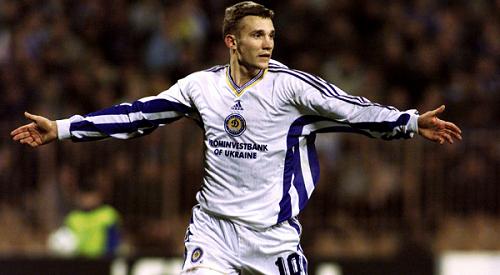 Andrey Schevchenko : Dynamo Kiev 98 Photo: http://www.sofoot.com/