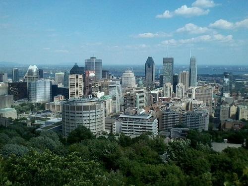 Montréal (Vue du Mont Royal)
