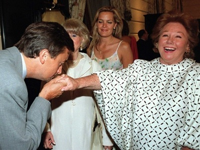 La Baronne Nadine de Rothschild - Publié le 31-10-2012 par Obsession © Rex - Abd Rabbo - SIPA